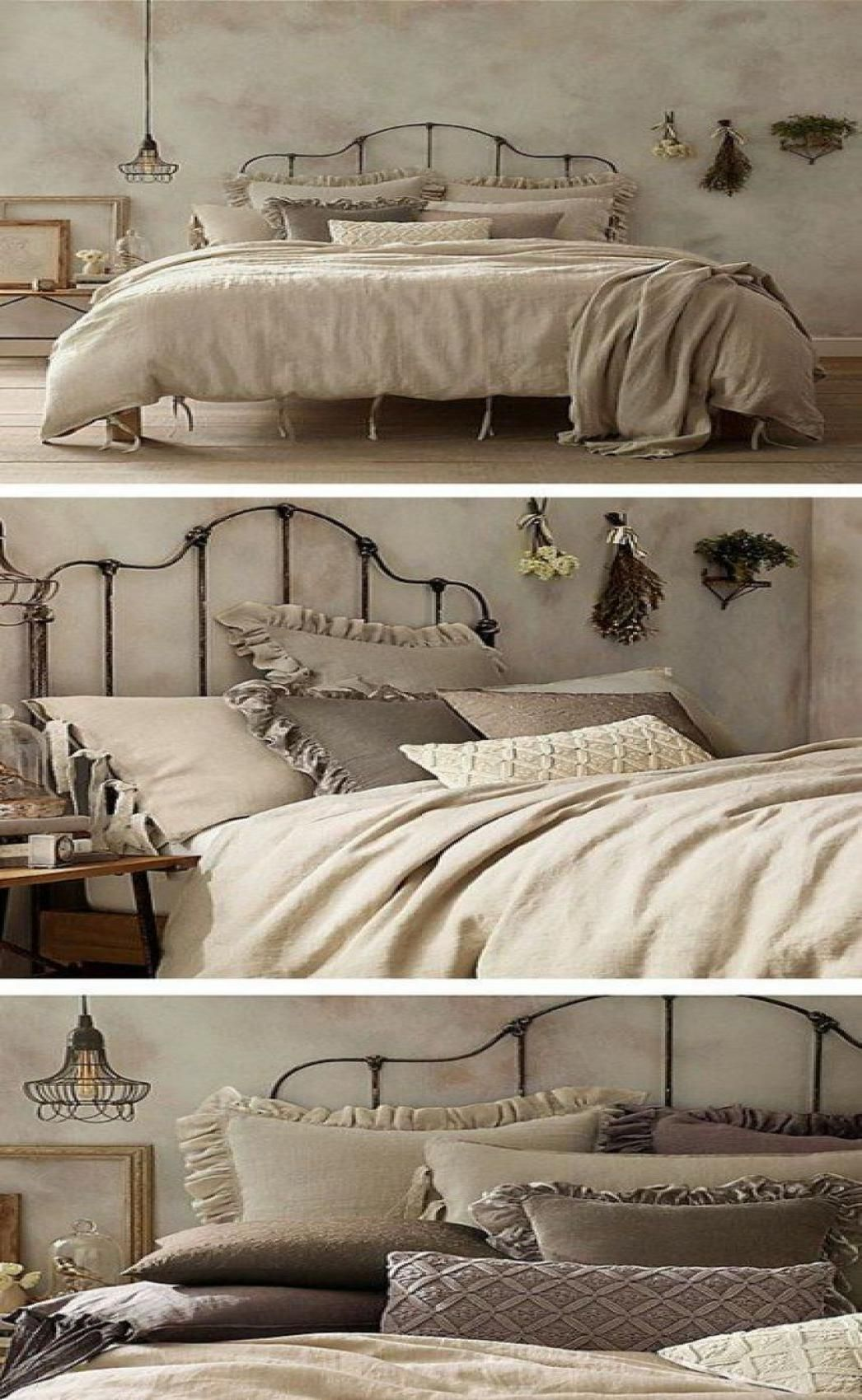 48 Elegant Modern Farmhouse Style Bedroom Decor Ideas in ...