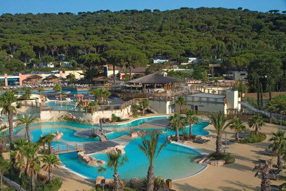 Camping***** Les Tournels - Ramatuelle #Camping #Piscine - camping a marseillanplage avec piscine
