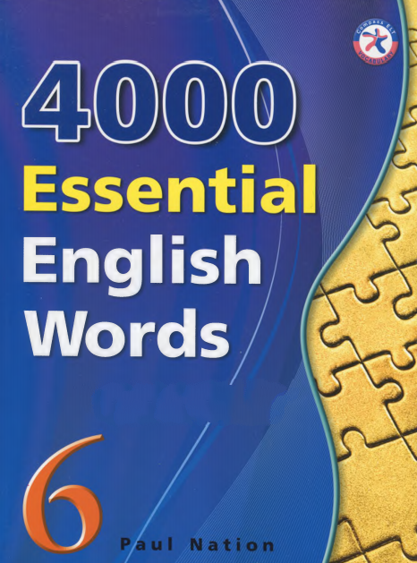 4000 Essential English Words 6 Books Pdf