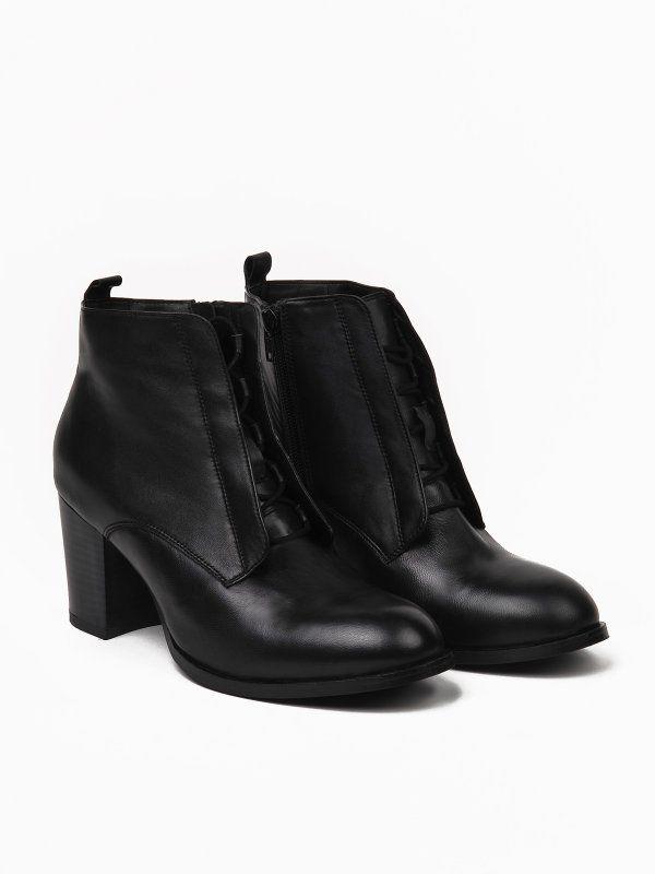 Buty Damskie Czarne Ze Skory Sbu0439 Buty Top Secret Odziezowy Sklep Internetowy Top Secret Shoes Boots Ankle Boot