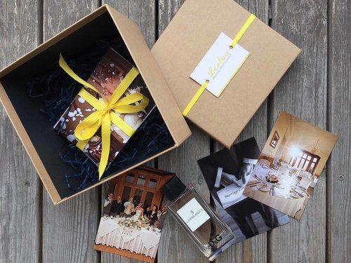 LeeLou Wedding Photography Print Box - Contemporary Satin Collection