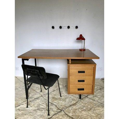 Bureau Vintage Pierre Paulin Cm 172 Bureau Vintage Table Bureau Bureau
