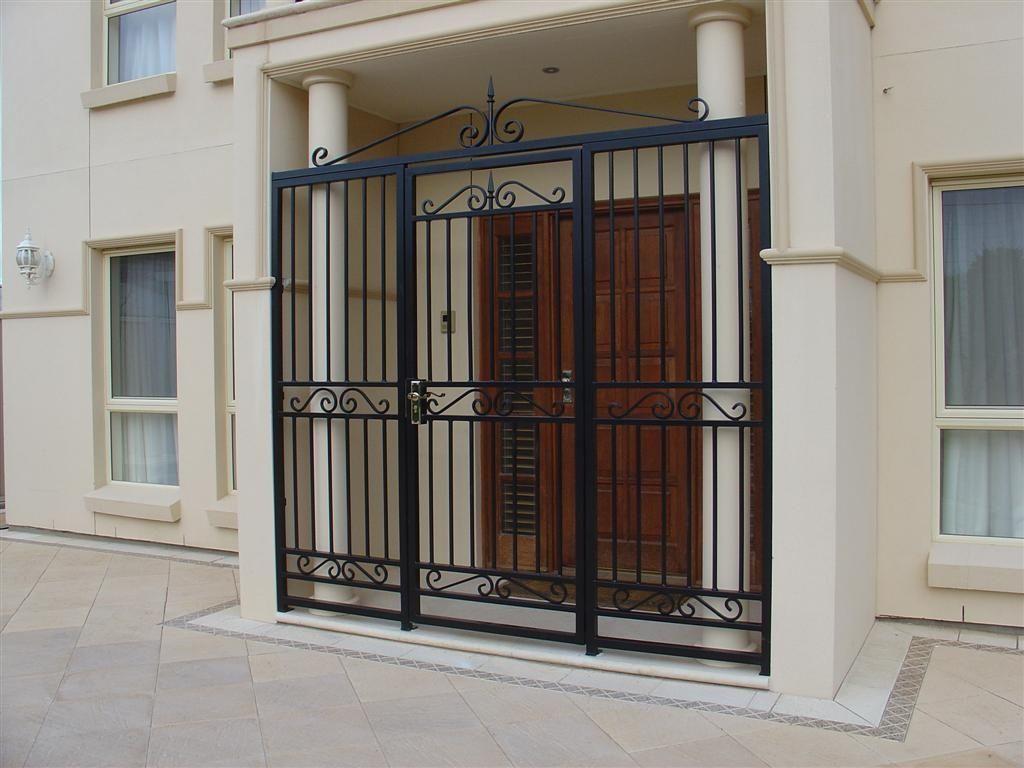 Front Door Window Security Bars | http://thewrightstuff.us ...