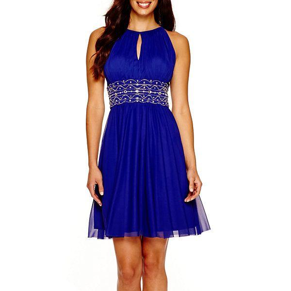 f814d8dc3e9 La Nouvelle Renaissance Sleeveless Embellished Dress - JCPenney ...