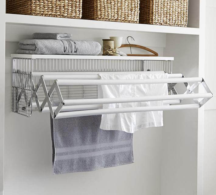 Wallmount Drying Rack Drying Room Laundry Room Storage Laundry