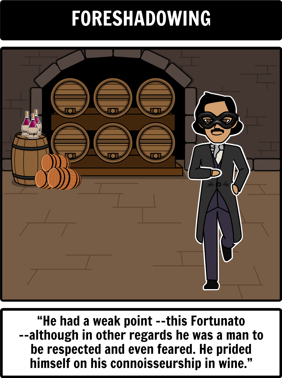 irony in the cask of amontillado Use these examples of symbolism and irony in the cask of amontillado by edgar allan poe to enhance your literary knowledge review this analysis before a test or to get good ideas for an essay.