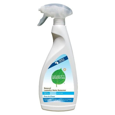 Seventh Generation Natural Laundry Stain Remover Free And Clear