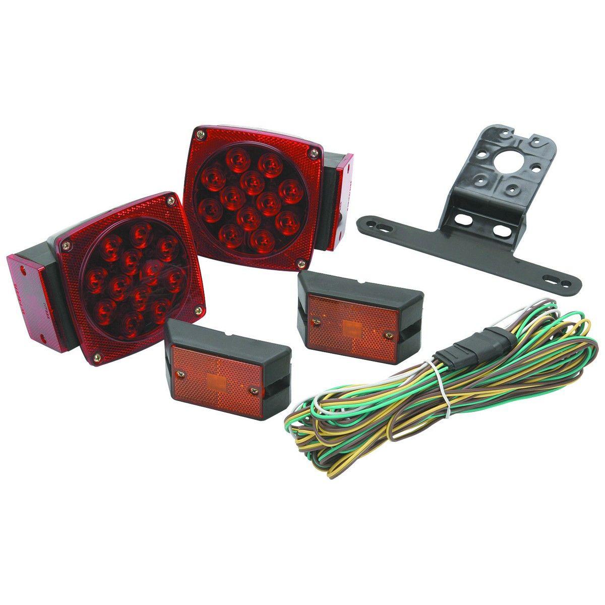HaulMaster 95974 LED Trailer Light Kit 38 Led