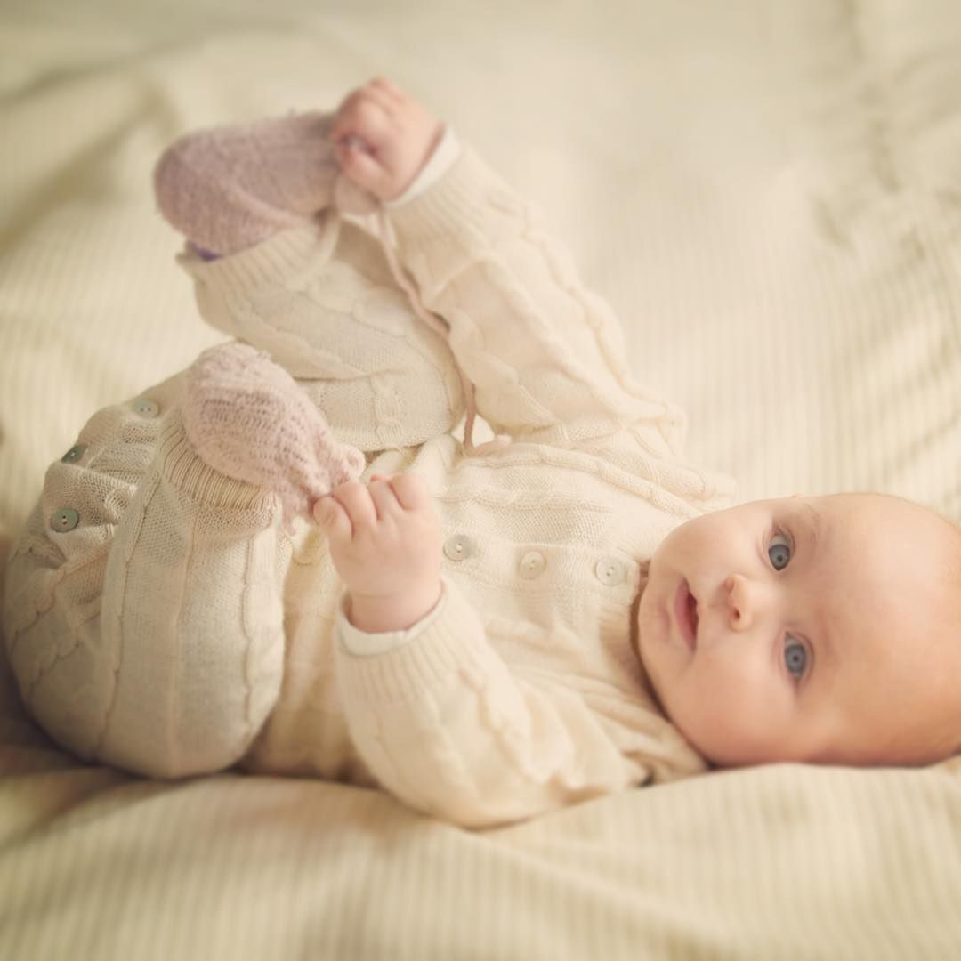 It is time for a nap for this sweetie ❤ Little Llama makes the softest baby/toddlerwear from alpaca and silk.