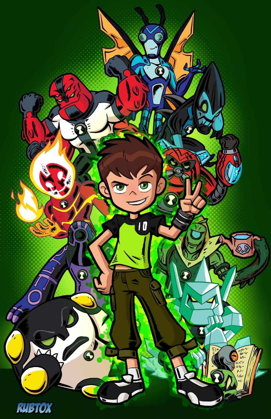 Ben 10 Reboot By Rubtox On Deviantart Ben 10 Birthday Ben 10 Ben 10 Birthday Party