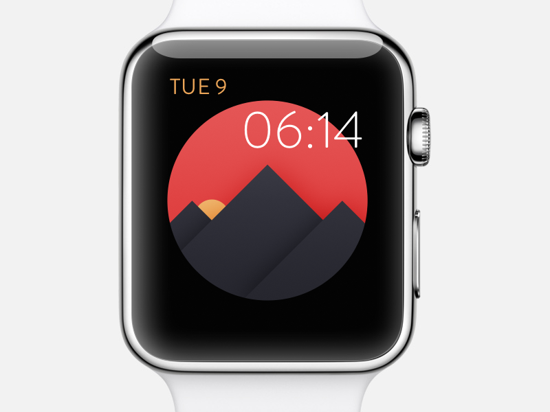Apple Watch Watch Face Concept on