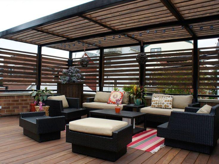 Pin De Colin Beck En Rooftop Pergola Ideas Terrazas