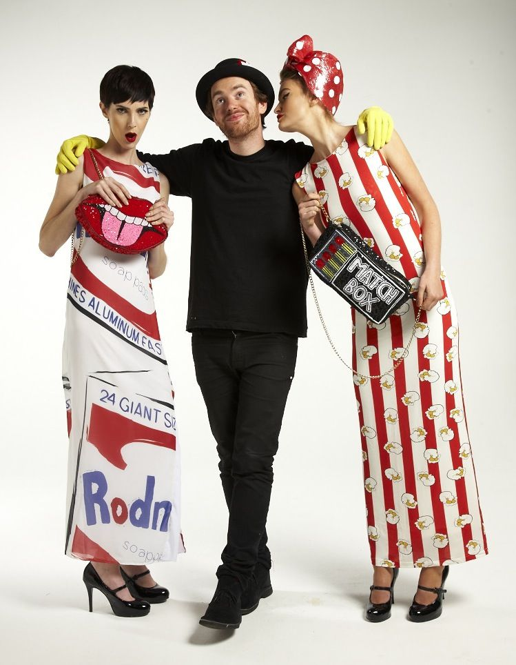 pop art fashion | Satire of Fashion': Interview with Philip Colbert, designer of the ...