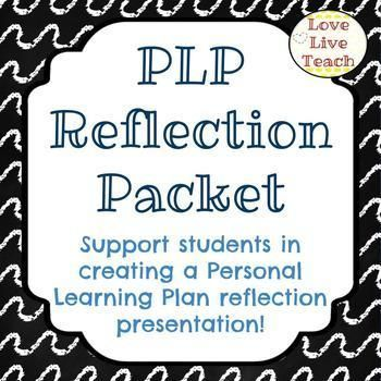 PLP Reflection Packet/slideshow for Special Education | Autism ...