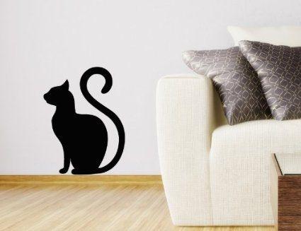 Pin By Mila Clemens On Halloween Pinterest - Vinyl decal cat pinterest