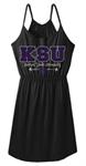 KSU Block Chevron Dress - Varney's