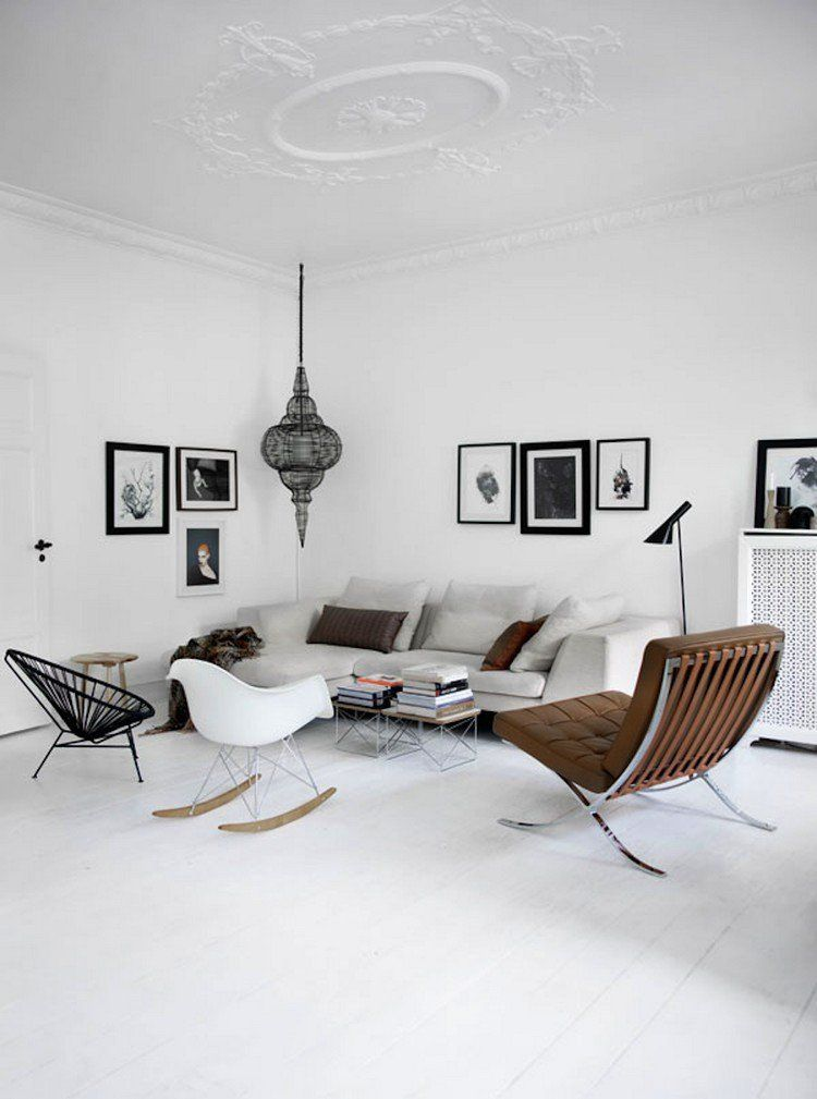 meubles scandinaves style et simplicit dans le design salons minimalistes meuble. Black Bedroom Furniture Sets. Home Design Ideas