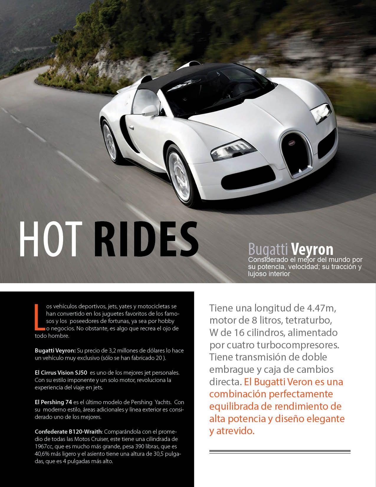 Bugatti Veyron Considerado El Mejor Carro Del Mundo En Eventos