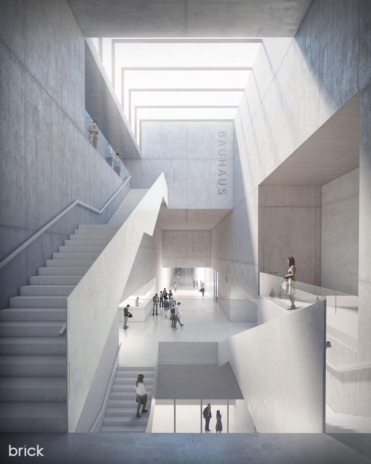 Bauhaus Archive Extension on Behance Bauhaus