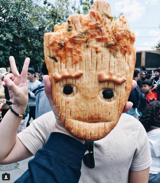 The Newest Food Craze at Disneyland is Groot Bread! #disneylandfood