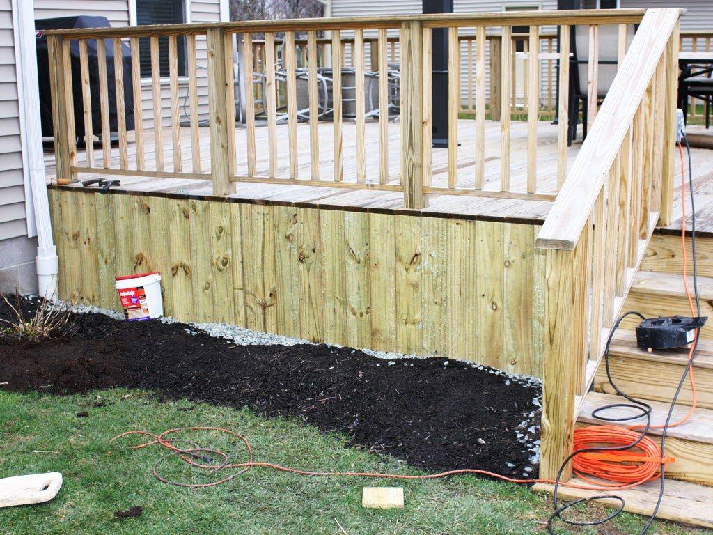 ideas for deck skirting for the home pinterest decking