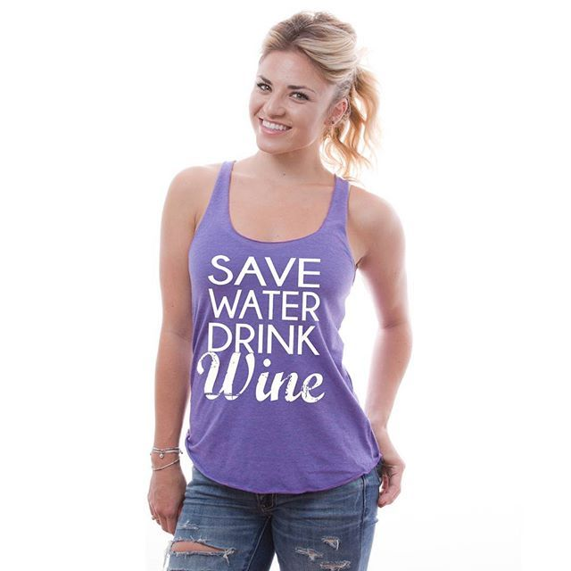 c82101e8563917 New Save water Drink Wine tshirt is available now at website  perfshirts.com