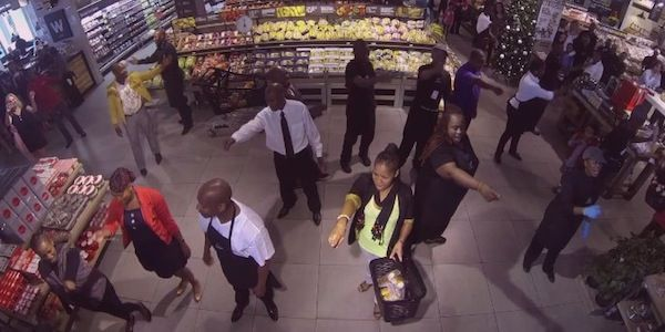 Have you seen the grocery store flash mob that was a tribute to Nelson Mandela? Enjoy at www.nikkiandthecity.com