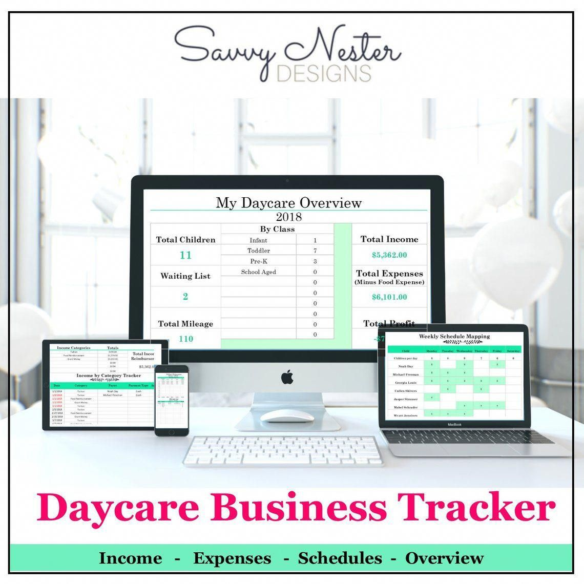 Daycare Business Tracker