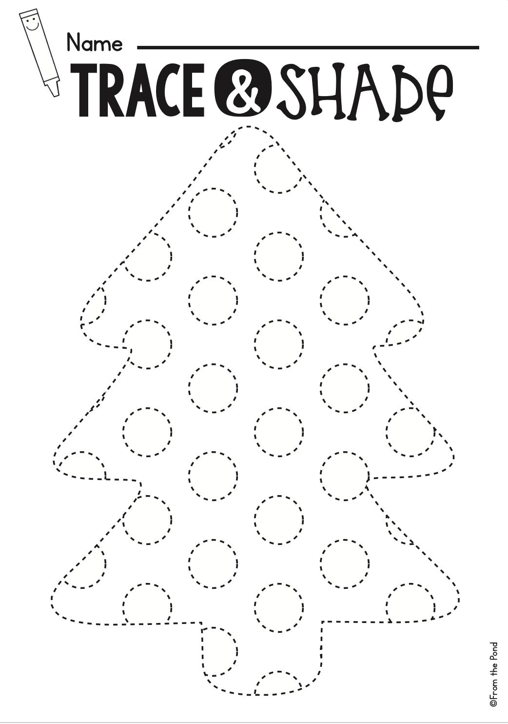 Christmas Activities For Kindergarten Math And Literacy No Prep Printables Kindergarten Activities Preschool Learning Activities Christmas Activities [ 1484 x 1042 Pixel ]