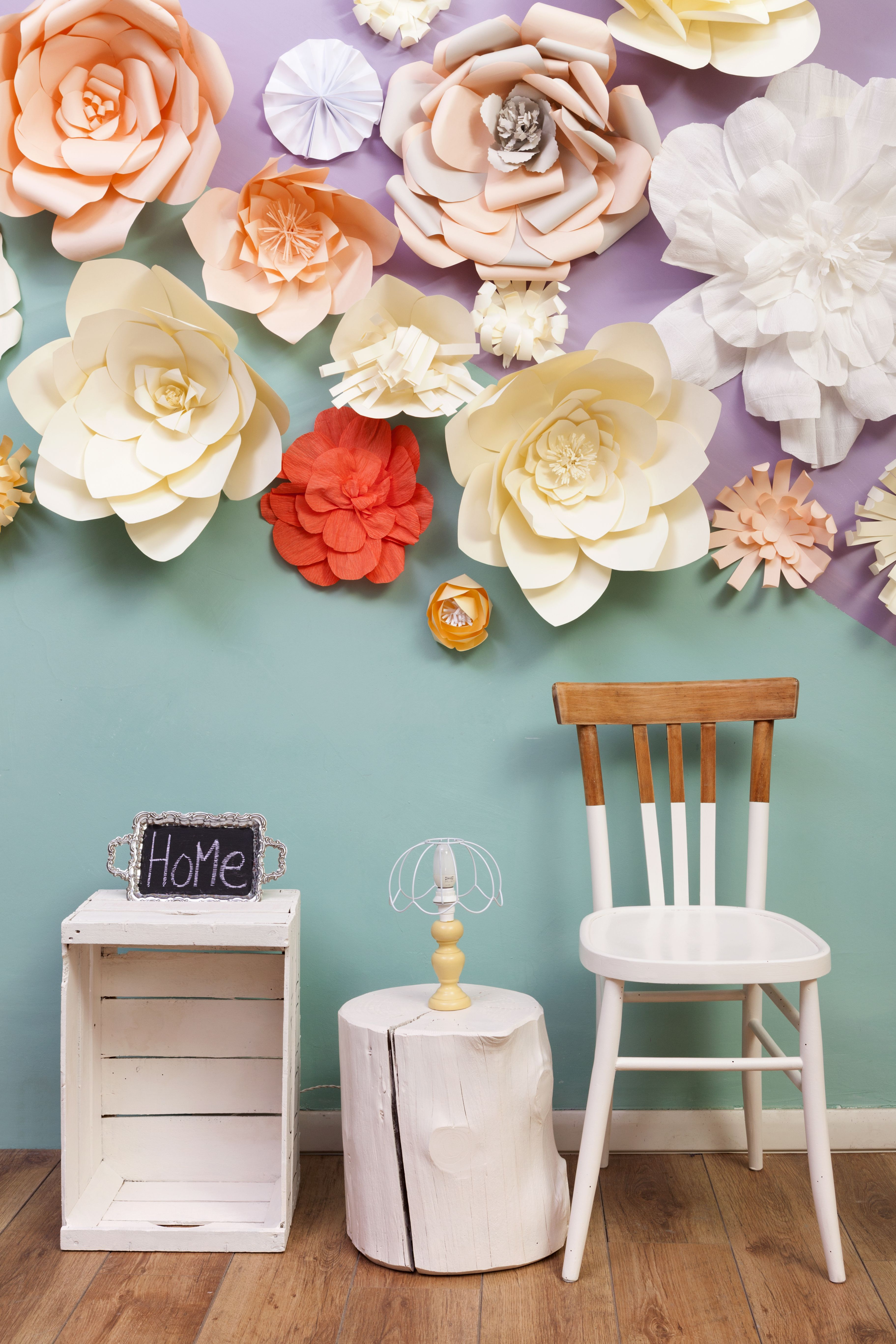 How to Hang Paper Flowers  Easy Ways to Hang Paper Flowers