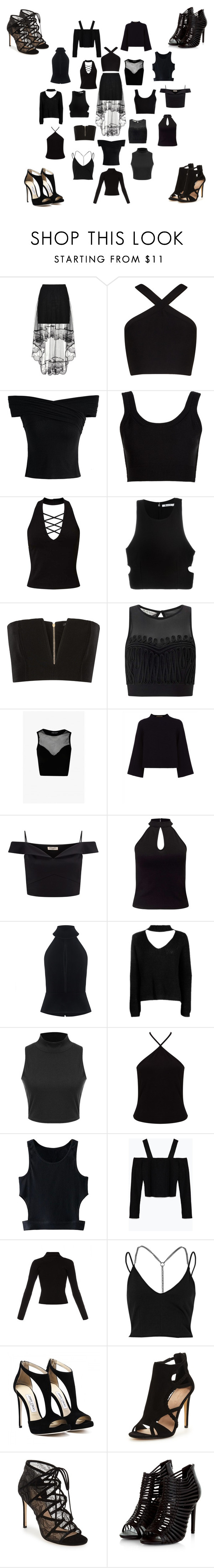 """""""1Skirt-19Shirts-4Shoes"""" by arts22 ❤ liked on Polyvore featuring BCBGMAXAZRIA, Chicwish, Calvin Klein Collection, Miss Selfridge, T By Alexander Wang, Balmain, Jaeger, Lipsy, C/MEO COLLECTIVE and WithChic"""
