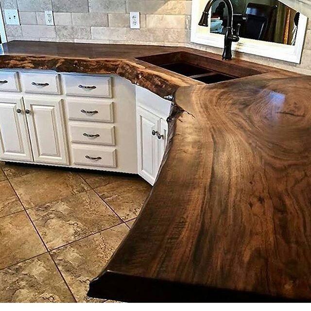 Beautiful counter. Cheap cabinets, floor and backsplash. | Baños ...