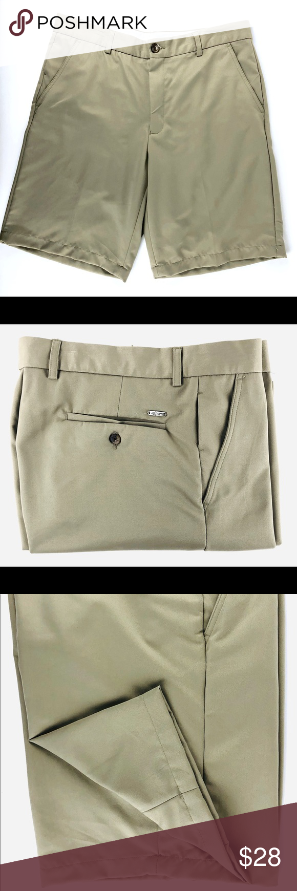 Greg Norman Chinos These Greg Norman Shorts Are Pre Owned And In Excellent Condition Size Features Size 36 Classic Chino Greg Norman Chinos Taupe Color