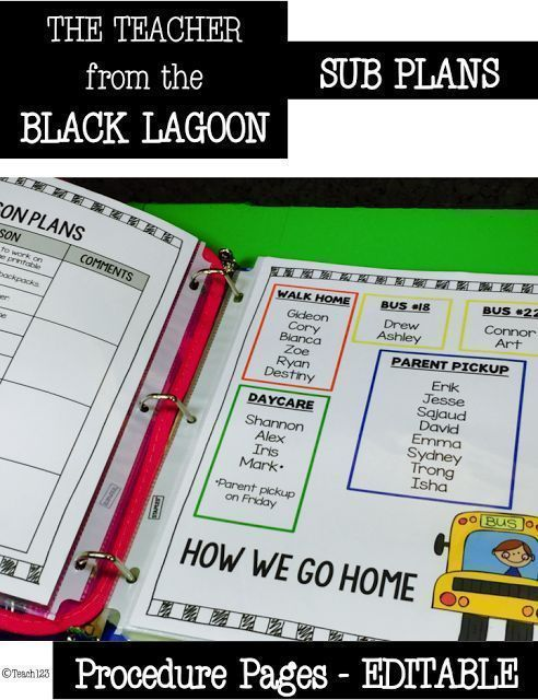 Teacher from the Black Lagoon – Mike Thaler
