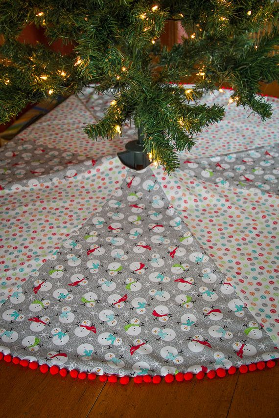 large christmas tree skirt snowman tree skirt multicolored tree skirt