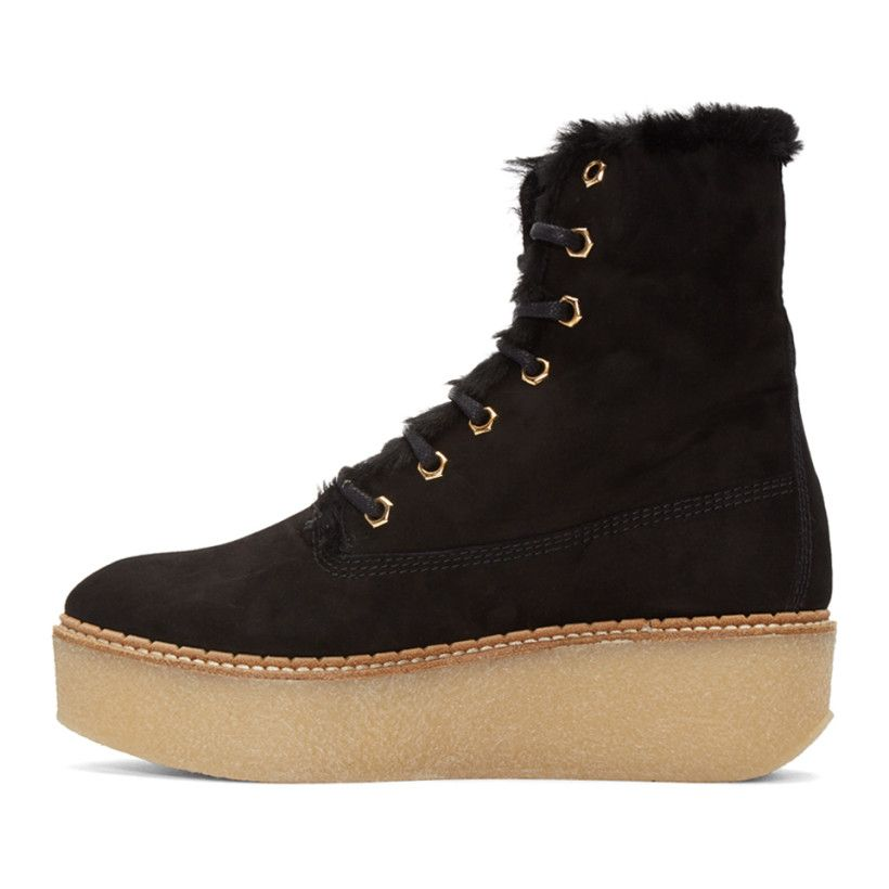 Discount Visa Payment Sale Comfortable Flamingos SSENSE Exclusive Shearling Stacy Boots Manchester Cheap Online IyqOGBTI