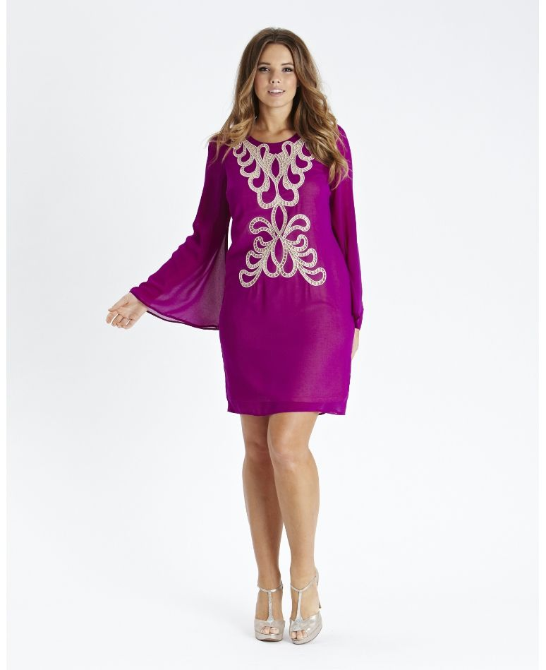 Embroidered Shift Dress at Simply Be | Mommy like! | Pinterest ...