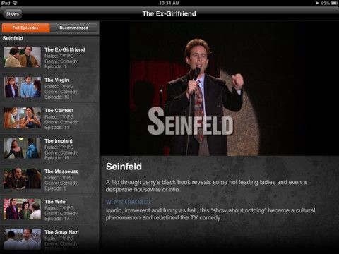Crackle App. This is a great FREE movie and TV Episode