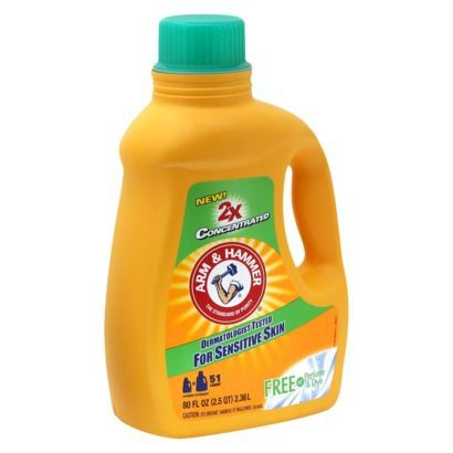 Rite Aid Arm Hammer Sensitive Skin Laundry Detergent Only 24
