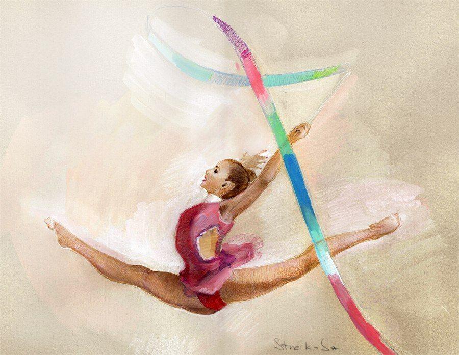Красивое поздравление гимнастки с днем рождения