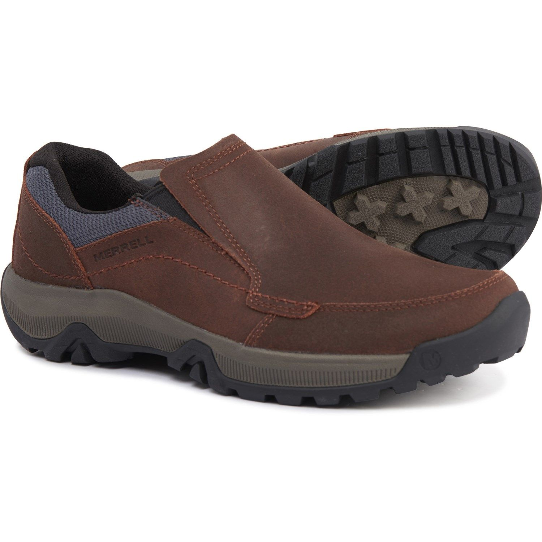 Merrell Oak Anvik Moc Shoes - Slip-Ons