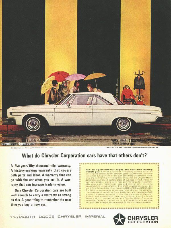 1964 Dodge Polara 500 - What do Chrysler Corporation cars have that ...