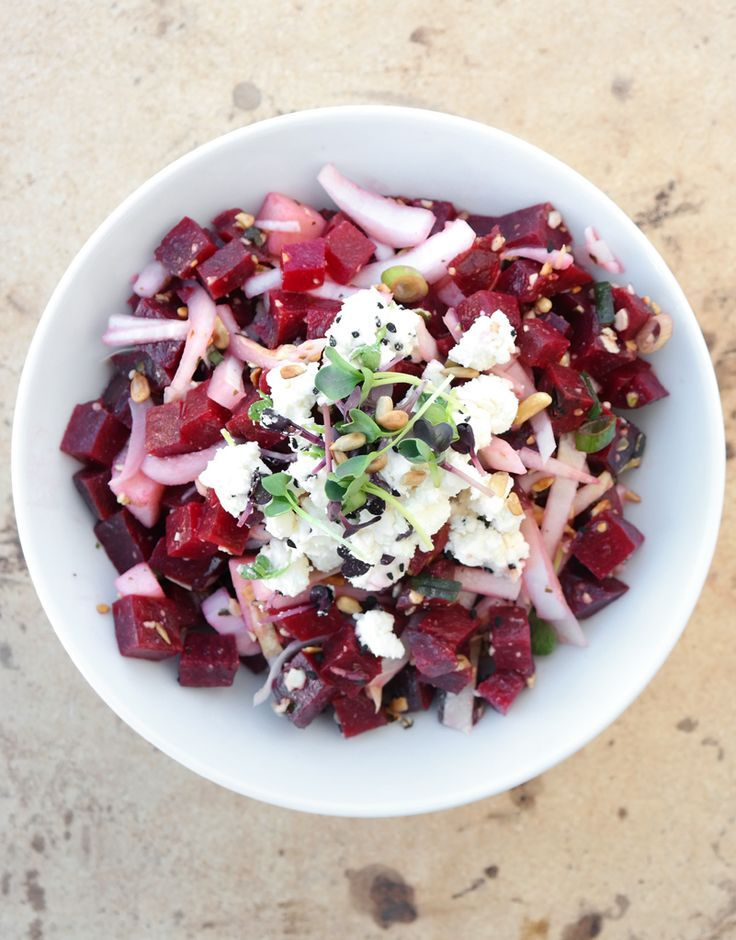 food over 50 recipes beet and ginger salad