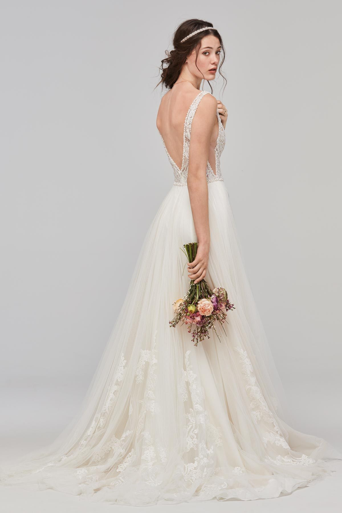 Bridal wedding dresses  Philomena  Willowby  Watters  Available at Luluus Bridal Boutique