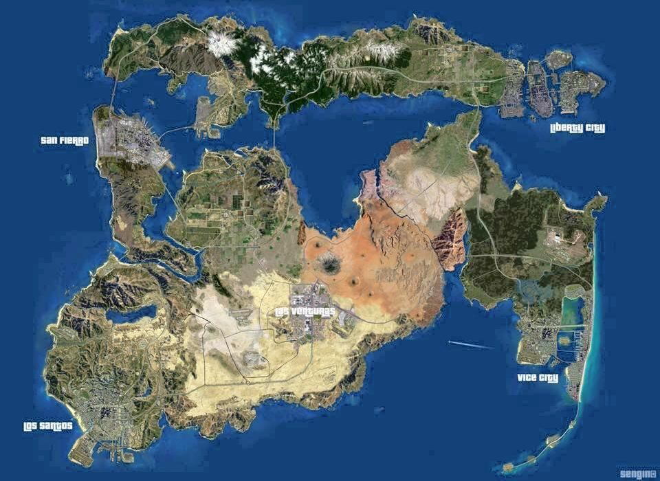 Earths Map%0A Explore Gta    The Map and more