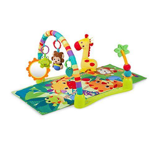 Bright Starts Activity Gym Playmat Jungle Discovery Bright Starts Activity Gym Baby Developmental Toys