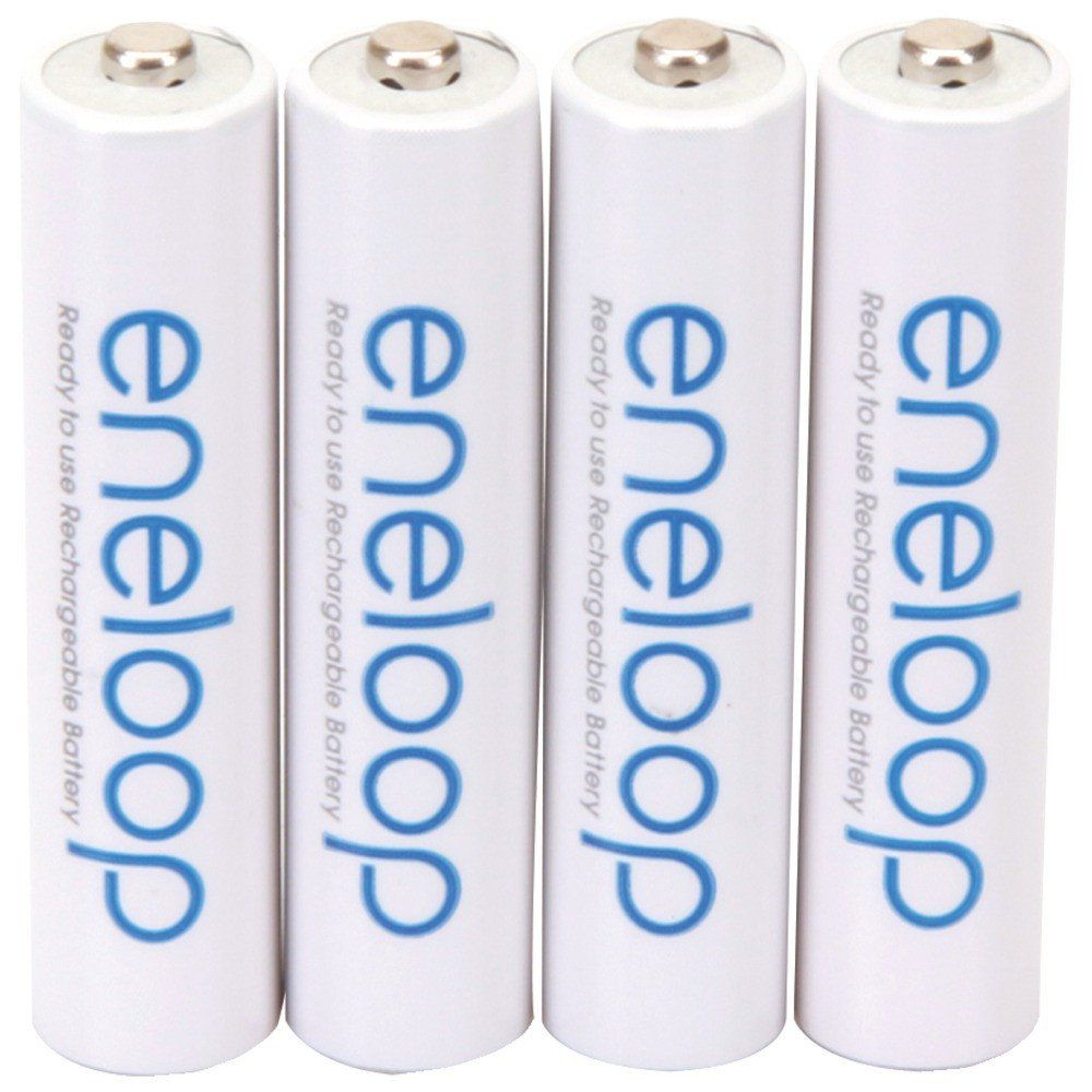 Panasonic Eneloop Batteries Aaa 4 Pk Rechargeable Batteries Panasonic Batteries