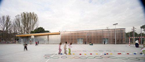 h arquitectes school gym 704