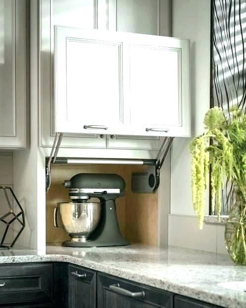 appliance garage hardware cabinet kitchen unique counter ...