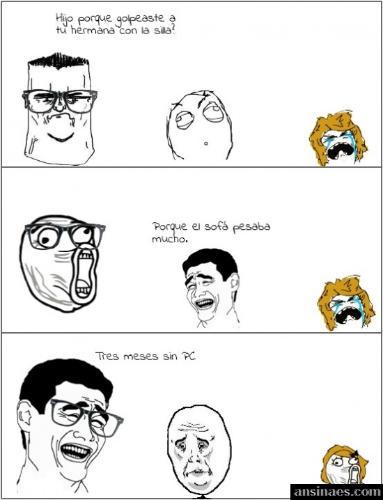Memes Chistosos - El sofa esta muy pesado